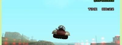 《侠盗车手:圣安地列斯》驾驶学校之飞鱼跳任务夺金补充说明