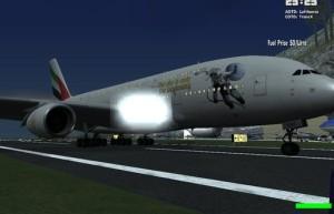 空客A380-841阿联酋航空Hazza(宇航员)